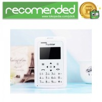 Royalstar Credit Size Mobile Phone - W102 - Putih