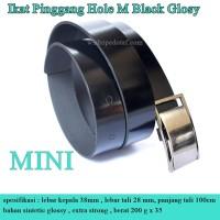Ikat Pinggang Hole MINI Black Glosy