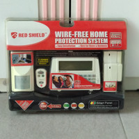 WS100S Wireless Alarm - Sensor Gerak, Alarm Pintu / Jendela / Remote