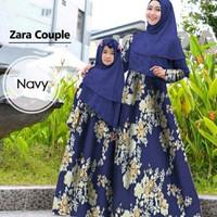 Baju Gamis Couple Ibu dan Anak / Baju Muslim Busui Termurah