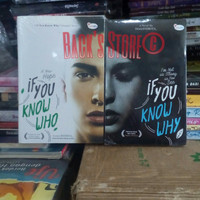 Paket 2 Buku Novel If You Know Who & If You Know Why By Itsme Indriya