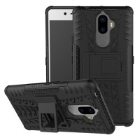 Lenovo K8 Note Heavy Duty Rugged Armor Stand Hard Soft Casing Cover
