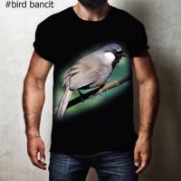 Harga kaos 3d burung kicau bancit t shirt 3d kicau mania burung bancit | Pembandingharga.