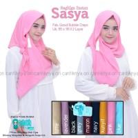 Hijab Jilbab Segitiga Instan Sasya