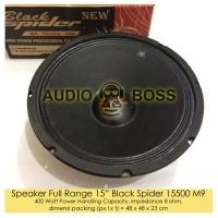 Speaker Full Range 15in 15 inch 15 Black Spider 15500 M9 400 Watt
