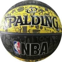 Bola Basket Spalding NBA Graffiti Bigfoot Basketball - Kuning