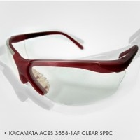 KACAMATA SAFETY MURAH ACES 3558-1AF CLEAR SPEC