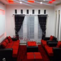 Sofa Merah Minimalis di Semarang