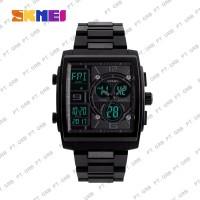 Jam Tangan Pria Digital Analog SKMEI 1274 Black Water Resistant 50M