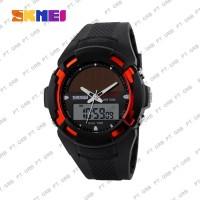 Jam Tangan Pria Digital Analog SKMEI 1056 Red Water Resistant 50M