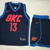 Jersey Setelan Basket NBA Oklahoma City Thunder