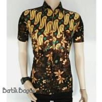 PROMO Kemeja Hem Batik Bagus trendy 03 TERMURAH