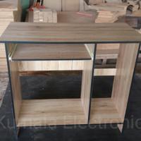 meja komputer murah meriah sederhana sekali