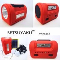 Lampu Senter Darurat Emergency Powerbank Multifungsi Ukuran Besar SE