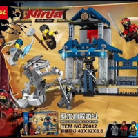 Mainan cowok anak laki laki lego ninjago decool 20012 sy bela ninja go