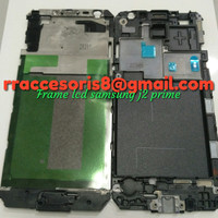 FRAME LCD DUDUKAN LCD TULANG TENGAH SAMSUNG J2 PRIME