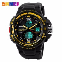 PROMO Jam Tangan Pria Skmei Men Sport Led Watch Water Reistant Model