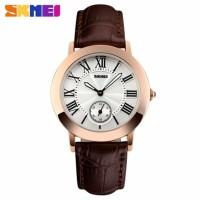 PROMO Jam Tangan Wanita Perempuan Skmei Original Leather Strap Watch