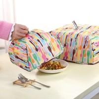 Foldable Insulated Food Cover Tudung Saji Tahan Panas Aluminium
