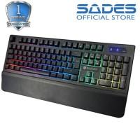 Sades Spearwolf Plunger Handrest Gaming Keyboard