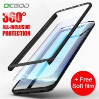OICGOO 360 Full Case Samsung Galaxy S9 S8 Plus S9 S8 S7 Note 8 S7 Edge