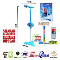 Mainan Mic Karaoke Anak Frozen Single Promo Murah Microphone SNI