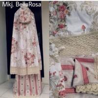 ( TERMURAH ) Mukena Katun Jepang Bella Rosa