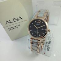 Jam tangan ALBA AH7N28 RS GOLD WANITA