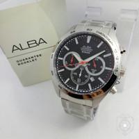 Jam tangan ALBA AT3B27 SILVER PRIA