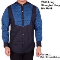 BAJU MURAH baju batik pria lengan panjang songket / kemeja pria batik
