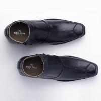 TERMURAH Sepatu Boot Formal/ Boot Pantofel Pria KULIT model Kickers