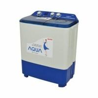 Mesin Cuci Aqua Sanyo QW780XT,new model, 7kg, harga dijamin murah