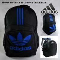 tas ransel adidas softbag blackblue free raincover | tas bola Limited