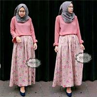33942 Set Kirana, set hijab, baju ramadhan