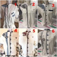 Baju Koko Lengan Panjang (kodian)