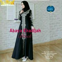Abaya khadijah gamis cantik modern murah