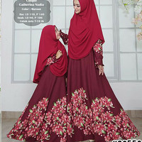 Harga baju muslim set couple ibu dan anak dress muslimah ks6551 baju | Pembandingharga.com
