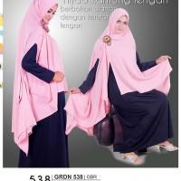 kerudung wanita muslimah,hijab wanita model kantung lengan GRDN 538