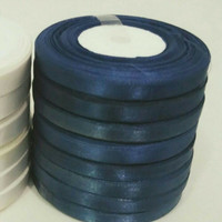 Pita satin biru SALE 10 Roll