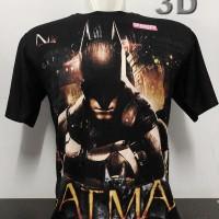kaos baju distro BATMAN 3D marvel superhero