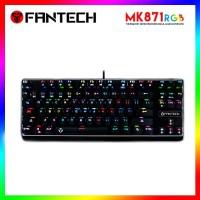 Fantech Mechanical Keyboard Tenkeyless Backlit RGB TKL Mk871 Mk-871