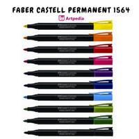 FABER CASTELL PERMANENT 1564 / Spidol Permanent - Termurah - Terlaris