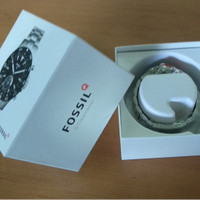 Jam Tangan FOSSIL HYBRID SMARTWATCH - Q CREWMASTER STAINLESS STEEL