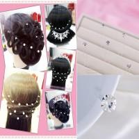 Hairpin Headpiece Hairpiece Aksesoris Hiasan Rambut Pesta Hair pin