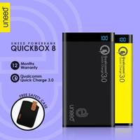 POWERBANK UNEED 8000MAH QUALCOMM QUICK CHARGE 3.0 QUICKBOX 8