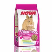 Makanan Kelinci NOVA RABBIT FOOD Original 1 kg pakan