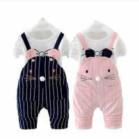Setelan Jumper Bunny Baby Import/Romper/Baju Bayi/Pakaian Anak Import