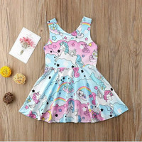 Dress Baby Unicorn Littel Poni Import/Dress Babygirl/Pakaian Bayi/Baju