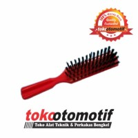 Brush With Plastic Handle (5 Lines) Orange S005 BENZ