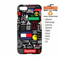 Hypebeast case Vivo v9 oppo f7 f5 iphone 6 7 8 X Samsung s9 s8 j7 j5